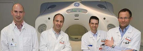Développement d'une nouvelle méthode d'imagerie par médecine nucléaire des vaisseaux sanguins impliqués dans la croissance et la métastatisation des tumeurs