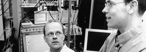 Prof. Christian Lüscher – Prof. Carl Petersen
