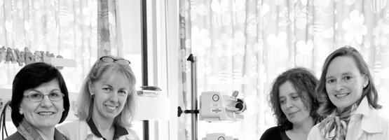 Prof. Petra Hüppi – Prof. Koviljka Barisnikov – Dr Christina Borradori Tolsa – Mme Margarita Forcada Guex