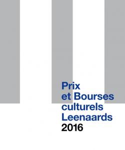 Prix et Bourses culturels 2016
