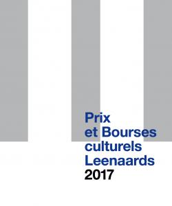 Brochure: Prix et Bourses culturels 2017