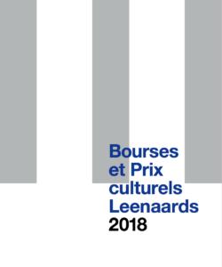 Brochure: Bourses et Prix culturels 2018