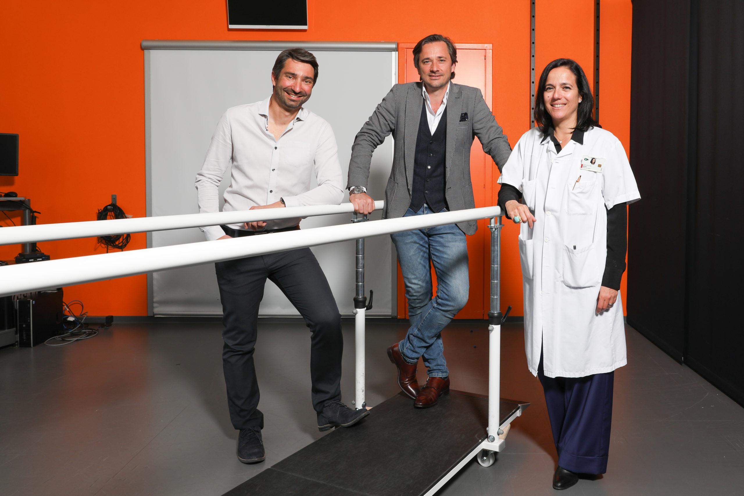 Interface cerveau-moelle épinière pour retrouver l'usage des jambes