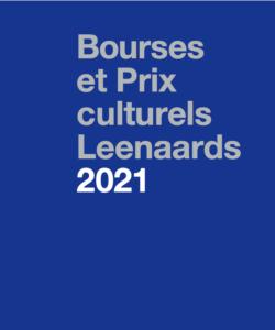 Brochure: Bourses et Prix culturels 2021